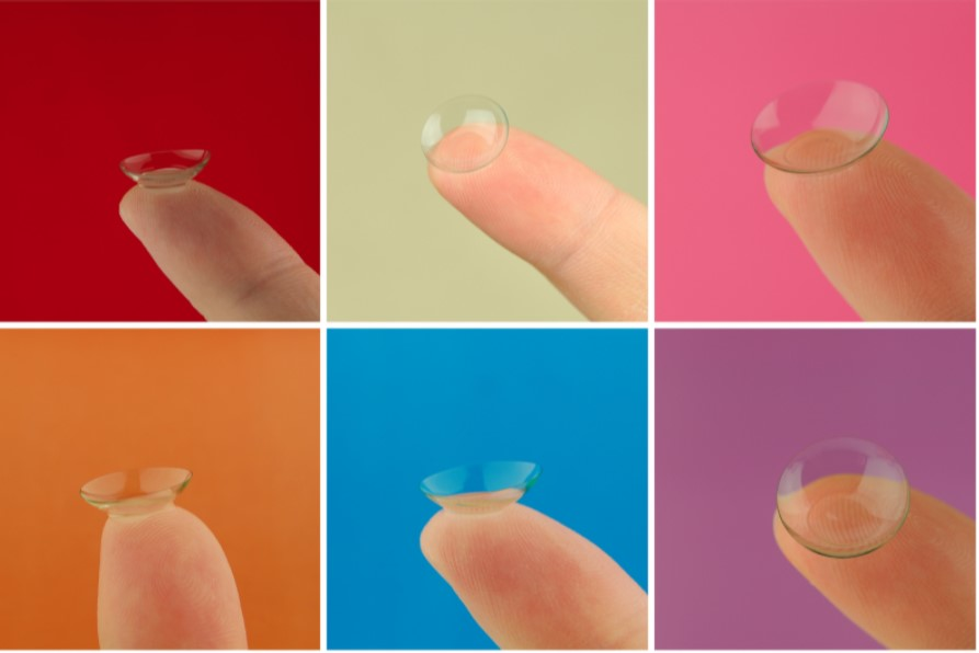 methods of wearing contact lenses